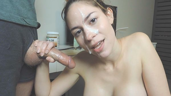 Cum On Her Pretty Face